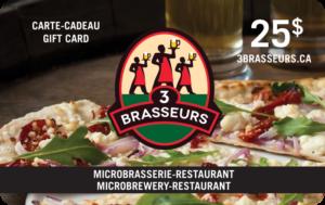 3 Brewers Restaurant Gift Card