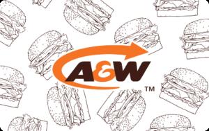 A&W Restaurant Gift Card