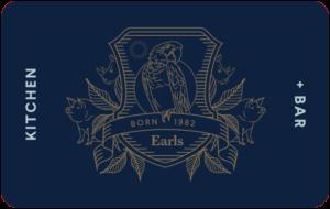 Earls Restaurant Gift Card