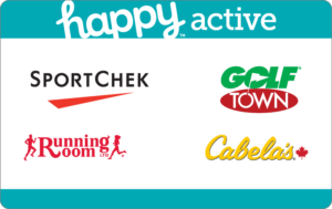 Happy Active Gift Card