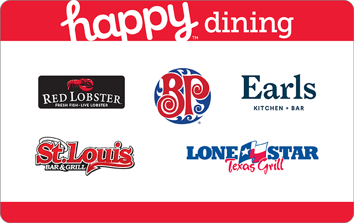 Happy Dining Ontario Gift Card
