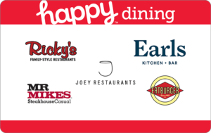 Happy Dining West Gift Card