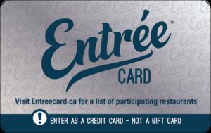 Entree Card