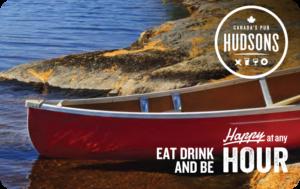 Hudsons Pub Gift Card