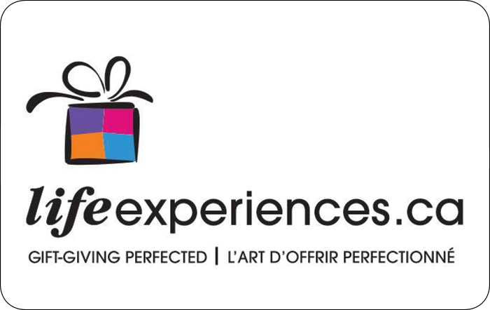 Life Experiences Gift Card