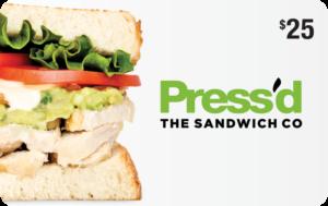 Press'd Restaurant Gift Card