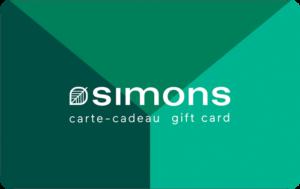 Simons Gift Card
