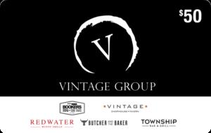 Vintage Group Restaurant Gift Card