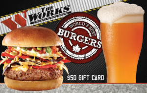 The Works Restaurant Gift Card