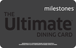 Milestone's Gift Card