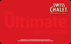 Swiss Chalet Gift Card