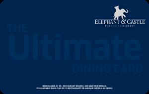 Elephant & Castle Gift Card