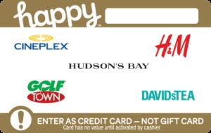 Happy Custom Gift Card