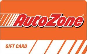 Buy Autozone Gift Cards or eGifts in bulk
