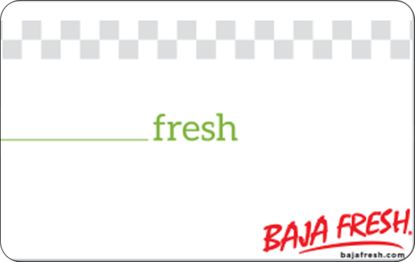 Buy Baja Fresh Mexican Grill Gift Cards or eGifts in bulk