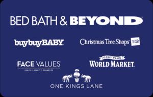 Buy Bed Bath Beyond Gift Cards or eGifts in bulk