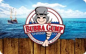 Buy Bubba Gump Shrimp company Gift Cards or eGifts in bulk