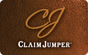 Buy Claimjumper Restaurant Saloon Gift Cards or eGifts in bulk