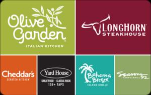 Buy Darden Restaurants Gift Cards or eGifts in bulk