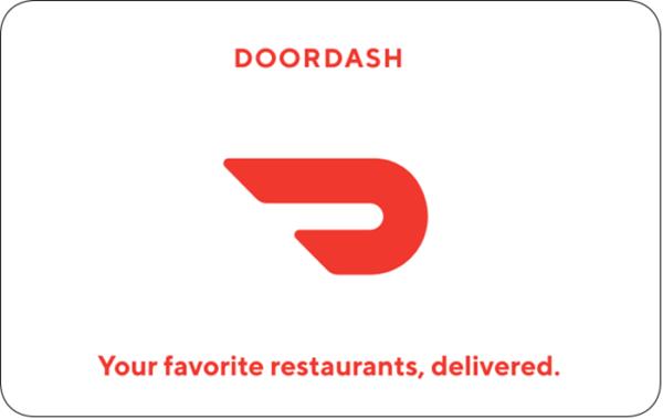 Buy Doordash Gift Cards or eGifts in bulk