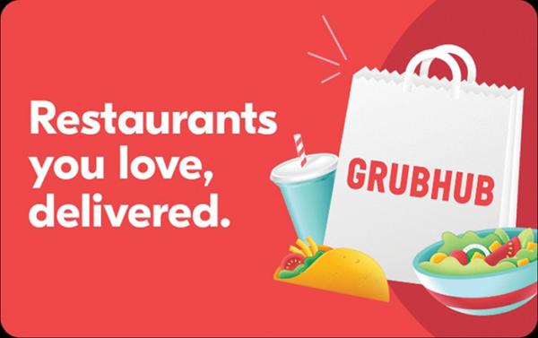 Buy Grubhub Gift Cards or eGifts in bulk