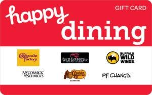 Buy Happy Dining V2 Gift Cards or eGifts in bulk