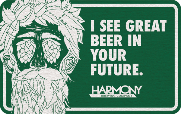 Buy Harmony Brewing Company Gift Cards or eGifts in bulk