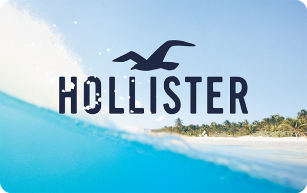 Buy Hollister Gift Cards or eGifts in bulk