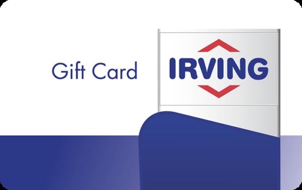 Buy Irving Oil Gift Cards or eGifts in bulk