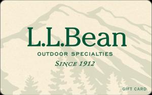 Buy L L Bean Gift Cards or eGifts in bulk