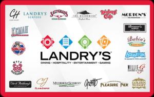 Buy Landrys Restaurants Gift Cards or eGifts in bulk