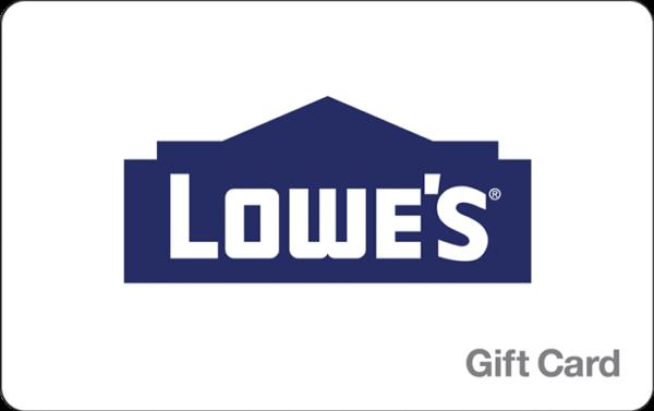 Buy Lowes Gift Cards or eGifts in bulk