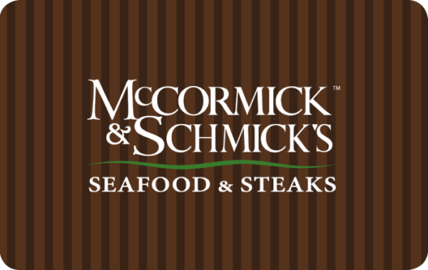 Buy Mccormick and Schmicks Gift Cards or eGifts in bulk