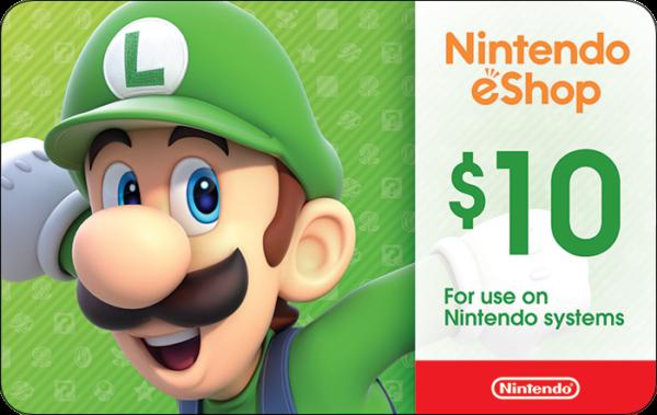 Buy Nintendo Gift Cards or eGifts in bulk