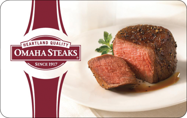Buy Omaha Steaks Gift Cards or eGifts in bulk