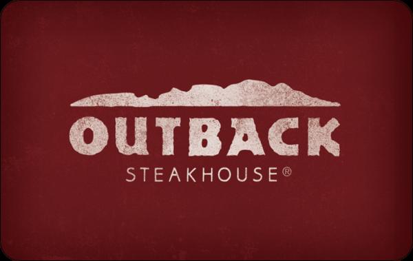 Buy Outback Steakhouse Gift Cards or eGifts in bulk