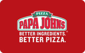 Buy Papa Johns Pizza Gift Cards or eGifts in bulk