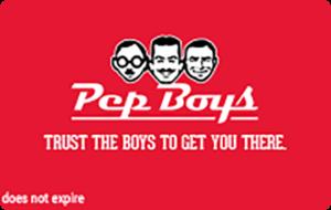 Buy Pep Boys Gift Cards or eGifts in bulk