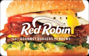 Buy Red Robin Gift Cards or eGifts in bulk