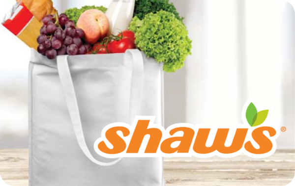Buy Shaws Gift Cards or eGifts in bulk