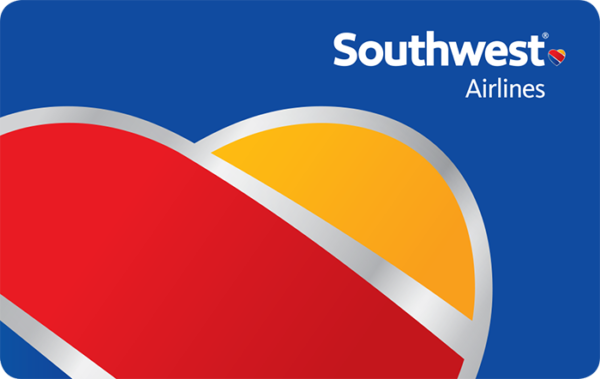 Buy Southwest Airlines Gift Cards or eGifts in bulk