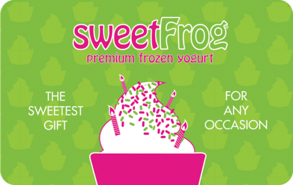 Buy Sweetfrog Gift Cards or eGifts in bulk
