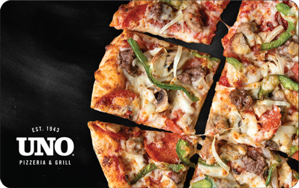 Buy Uno Pizzeria Grill Gift Cards or eGifts in bulk