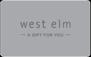 Buy West Elm Gift Cards or eGifts in bulk