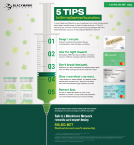 5 Tips to Driving Vaccination with Rewards