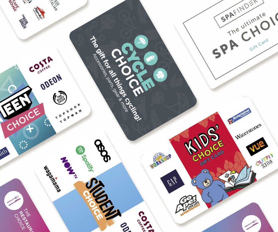 Choice gift cards