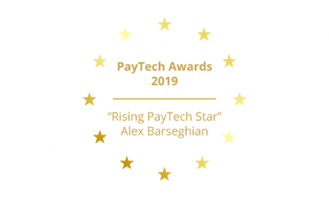 "PayTech Awards ""Rising PayTech Star,"" Alex Barseghian"